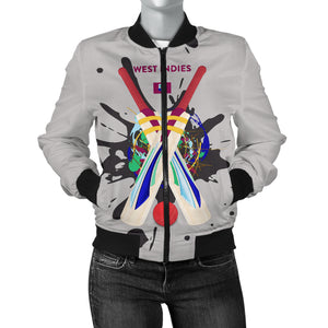 Women's Bomber Jacket - Cricket Collection (West Indies)