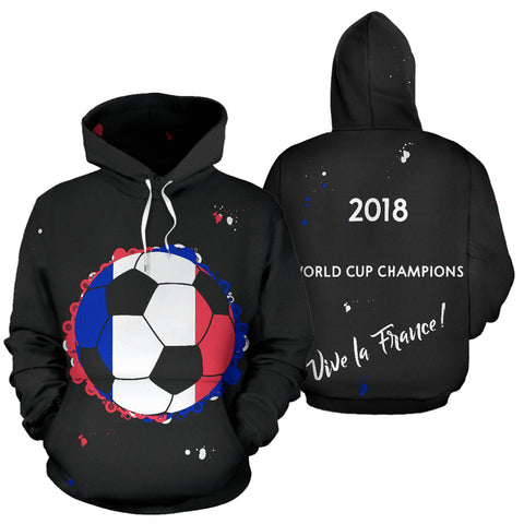 France 2018 World Cup Champions Hoodie Women