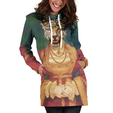 Women's Hoodie Dress - Renaissance Remorphed (Anne of Cleves)
