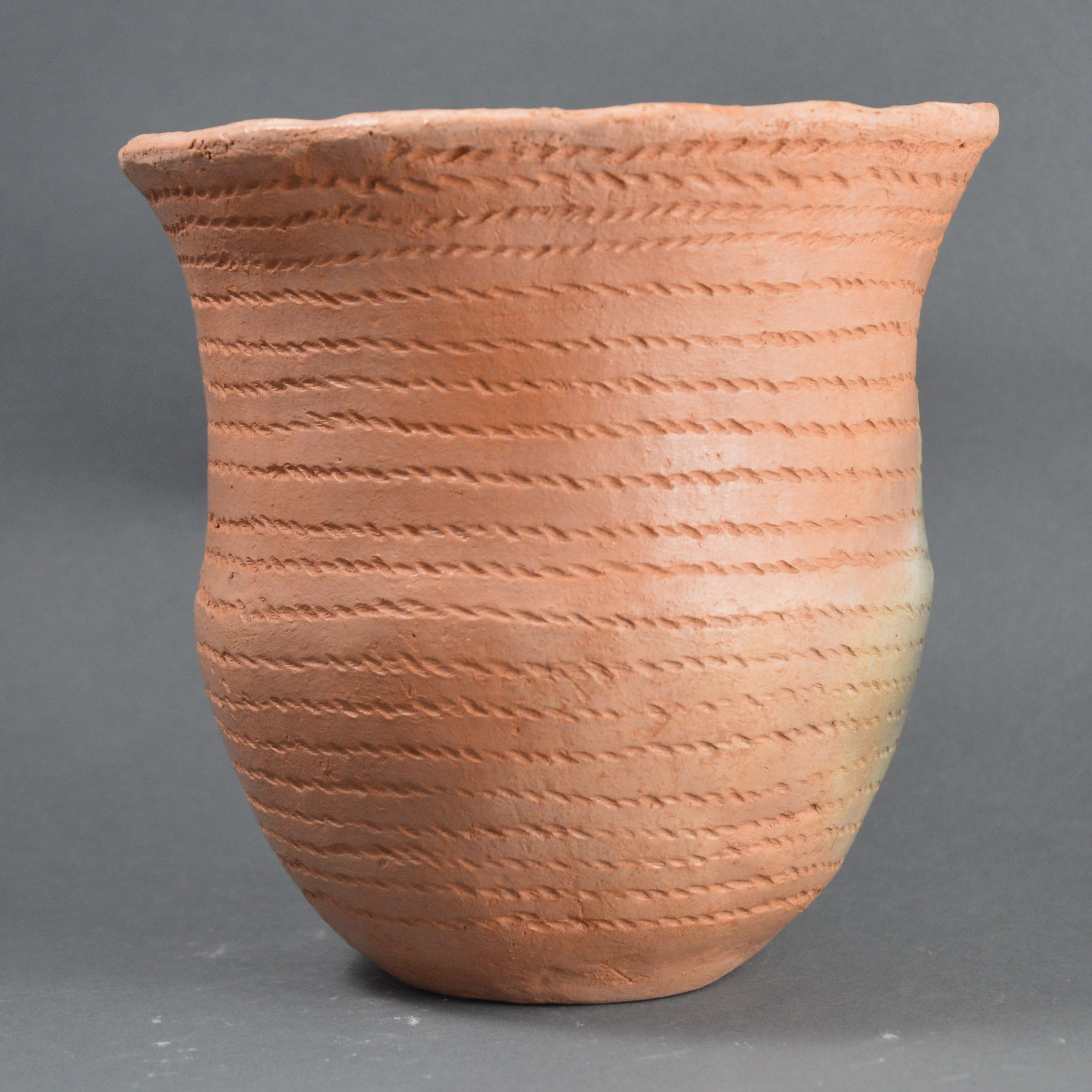 Bronze Age Beaker, Cord Decorated