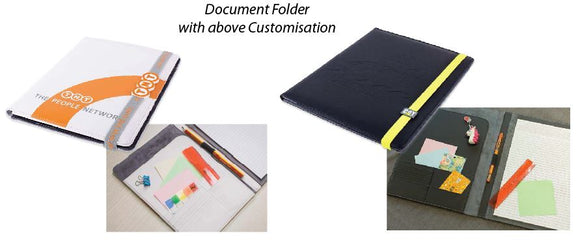 Document Folder with Customisations - Tredan Connections