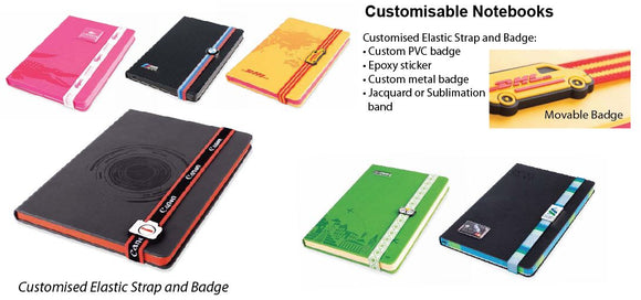 Customisable Notebooks - Tredan Connections