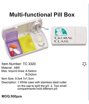 Multi-functional Pill Box - Tredan Connections