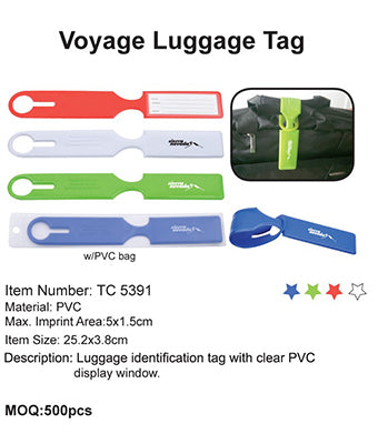 Voyage Luggage Tag - Tredan Connections