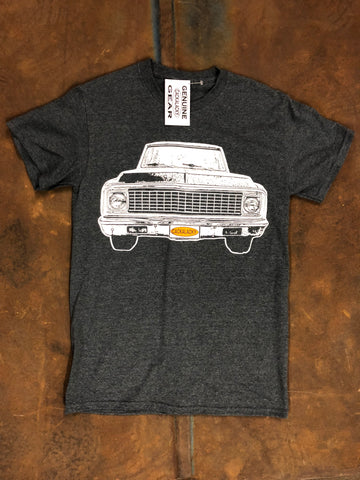 Cackalacky® Gray Heather Pickup Truck Tee Shirt