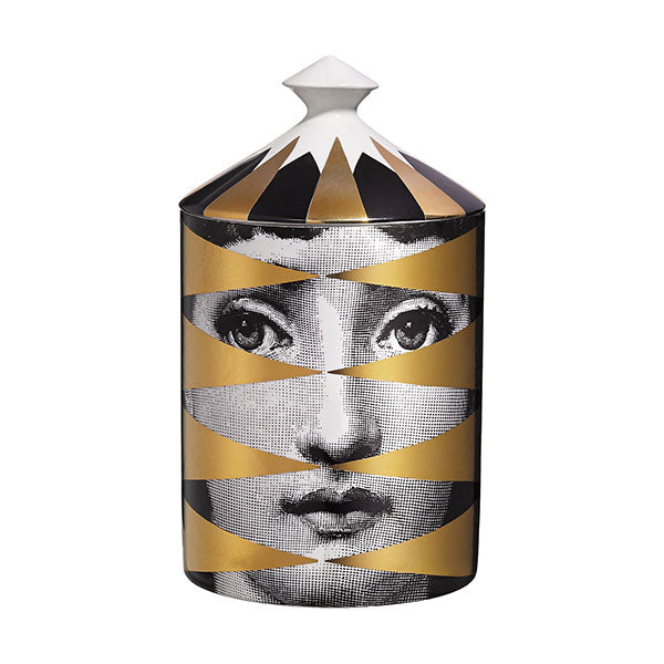 Losanghe Lidded Candle by Fornasetti