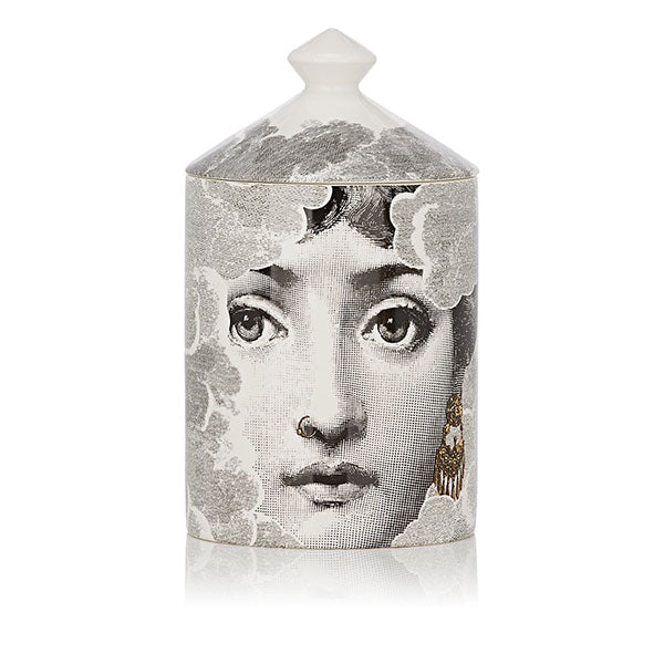 Nuvola Gold Lidded Candle by Fornasetti