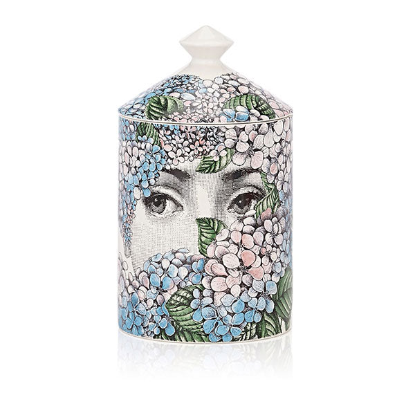 Ortensia Lidded Candle by Fornasetti