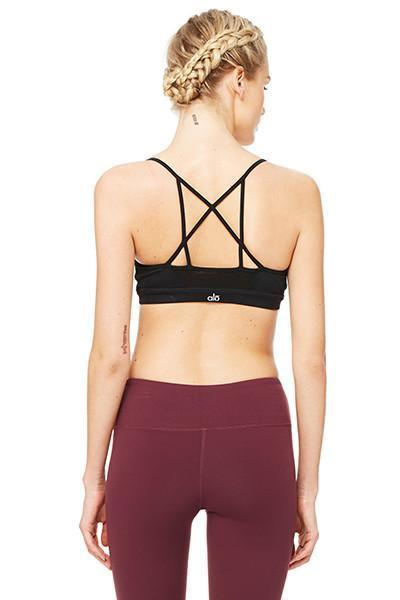 WOMENS BRAS Alo Yoga Goddess Bra - Black