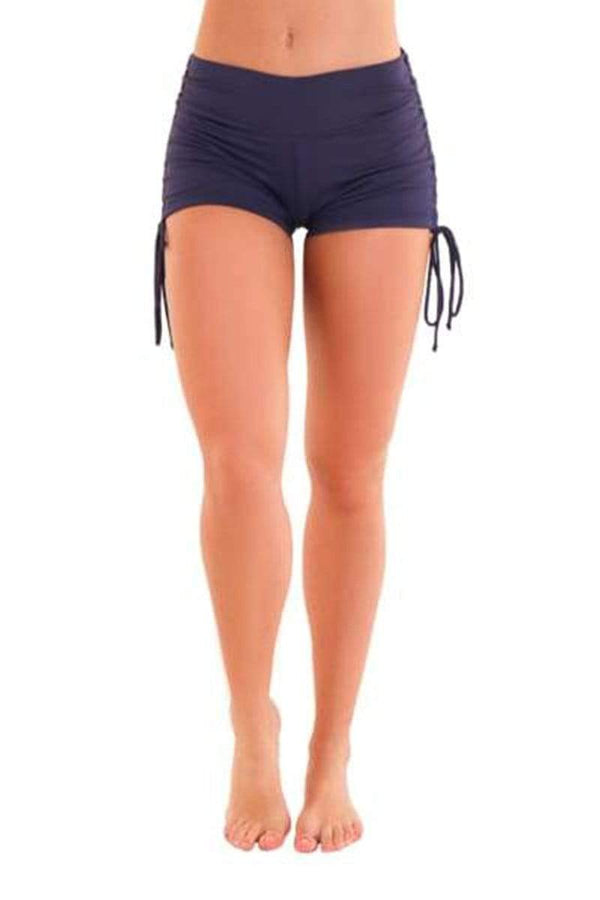 WOMENS SHORTS Liquido Om Eco Shine Shorts - Titanic