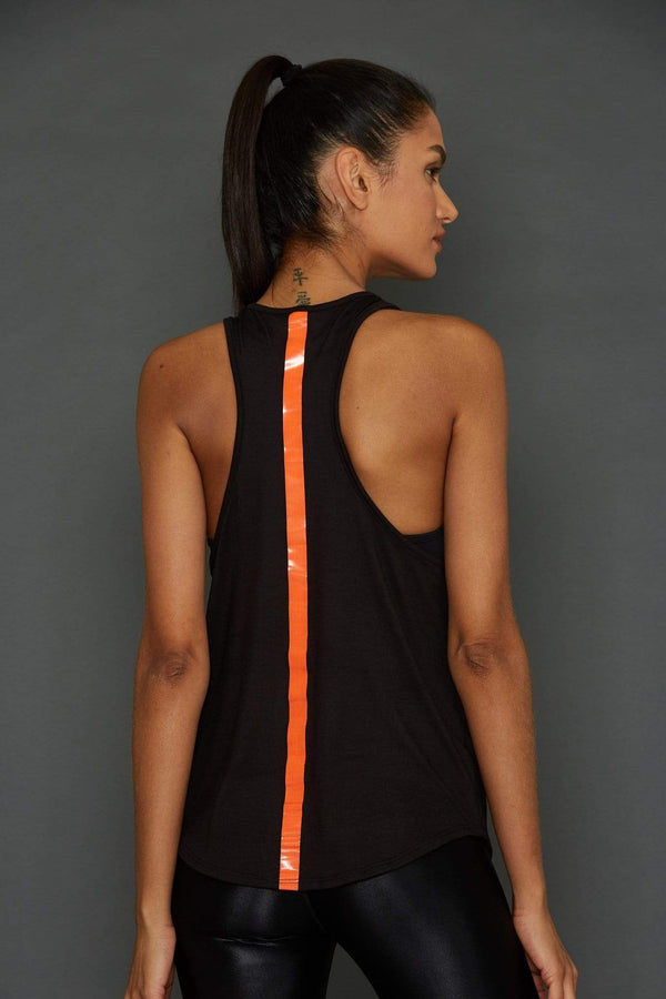 Women's Tops/Tanks S (U.K 8) Noli Movement Tank Orange