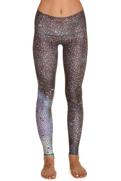 WOMENS LEGGINGS Teeki Mermaid Fairyqueen Teal Hot Pant