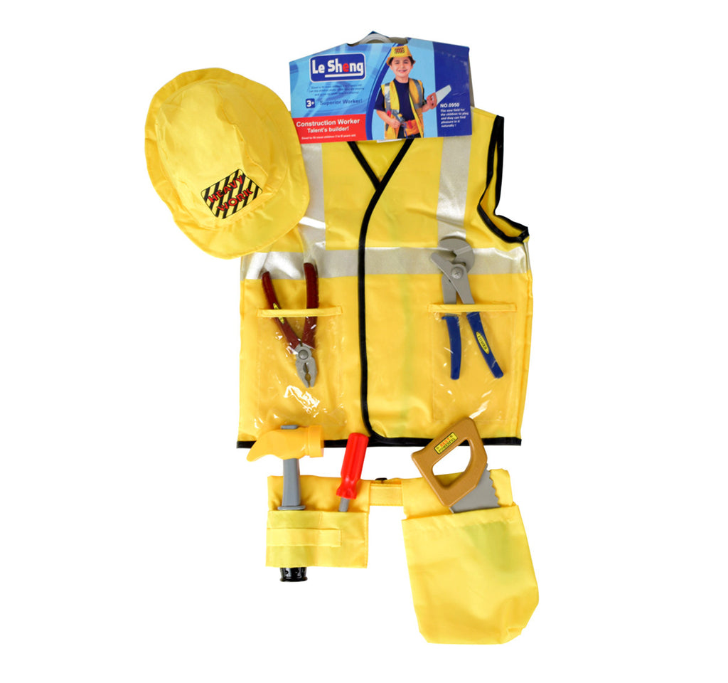 AJ Costumes -construction worker 13879