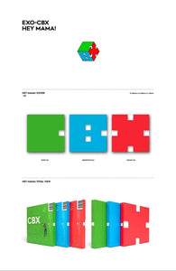 Exo-CBX Hey Mama 1.st Mini Album