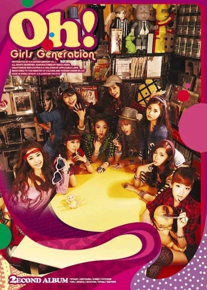 Girls Generation [OH] 2.nd Album