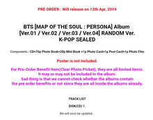 Laden Sie das Bild in den Galerie-Viewer, BTS [MAP OF THE SOUL:PERSONA] Album