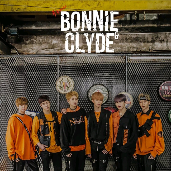 24K [Bonnie N Clyde] 6.th Mini Album