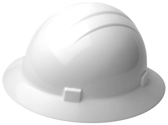 ERB Americana Heat Full Brim Hard Hat with 4-Point Suspension
