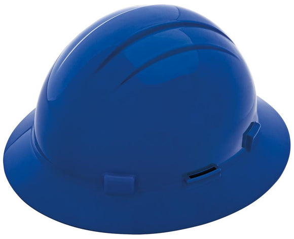 ERB Americana Full Brim Hard Hat with 4-Point Nylon Suspension and Accessory Slots