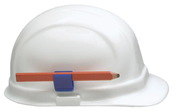 ERB 15686 Hard Hat Pencil Clip, Blue