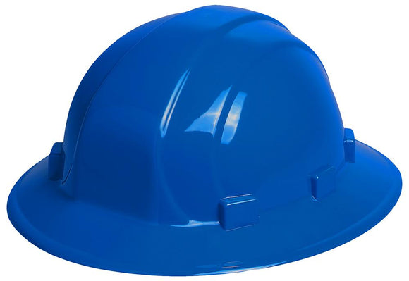 ERB Omega II Full Brim Hard Hat with 6-Point Nylon Suspension