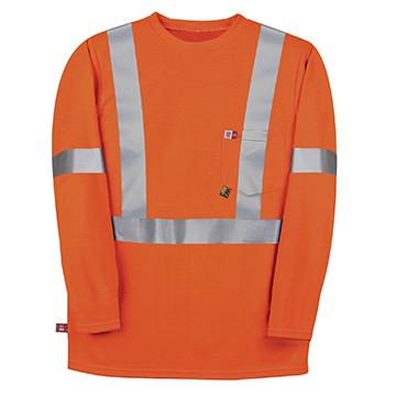 Big Bill RT5PD8 Polartec® Power Dry® Hi Vis FR Long Sleeve T-Shirt