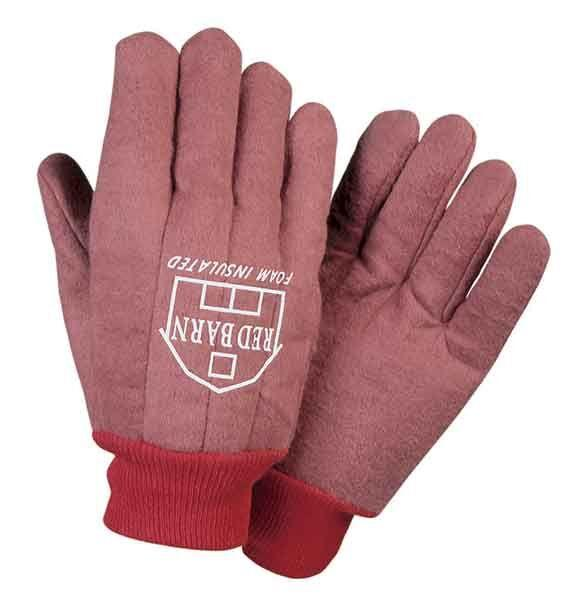 Fairfield Glove RBI Red Barn Winter Lined Heavy Cotton Chore Glove