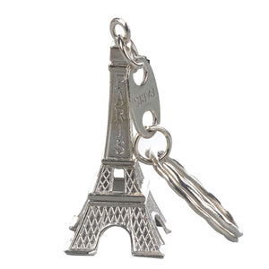 Eiffel Tower Key Chain and Key Ring