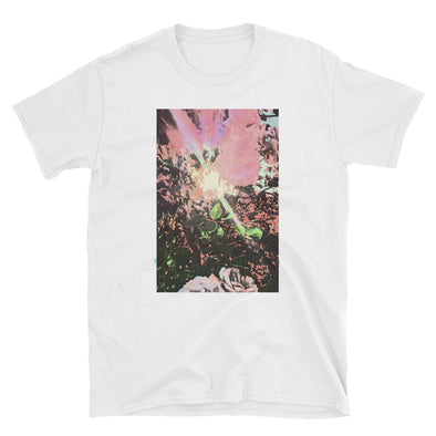 Roses Wild Unisex T-Shirt-Fat Pinky