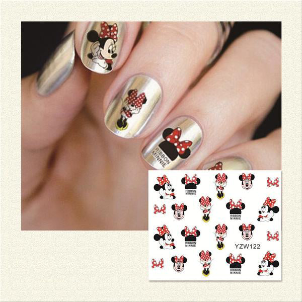 Hot Sale Water Transfer Nails Art Sticker