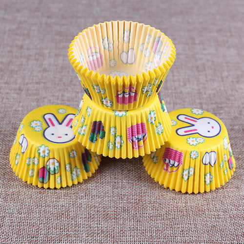 100PCS Muffins Paper Cupcake Wrappers Baking Cups