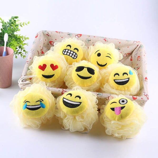 Cartoon 1 PC Bath Flower Bath Ball Milk Shower Accessories