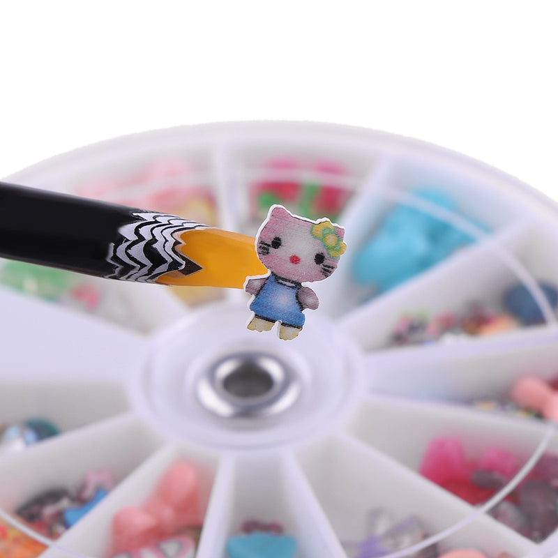 Random Color! 1pc Professional Rhinestones Gems Picking Crystal Tools Pencil Easily Pick Up Pen