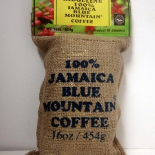 ridgelyne 100% jamaica blue mountain coffee roasted & ground 16 oz - JamaicanFavorite