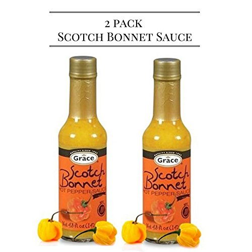 grace hot pepper sauce 4.08 oz (Pack of 2) - JamaicanFavorite
