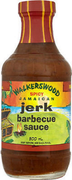 walkerswood spicy jamaican jerk barbecue sauce 17 oz - JamaicanFavorite