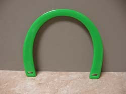 Plastic Handles Set Lime Green