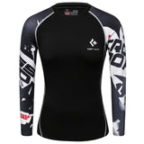 Compression Quick-dry Fitness Mma T-shirts Long Sleeve