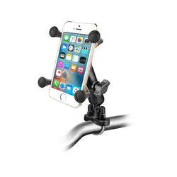 RAM Handlebar U-Bolt Mount with Universal RAM® X-Grip® Cell/iPhone Cradle (RAM-B-149Z-UN7U) - RAM Mount Taiwan