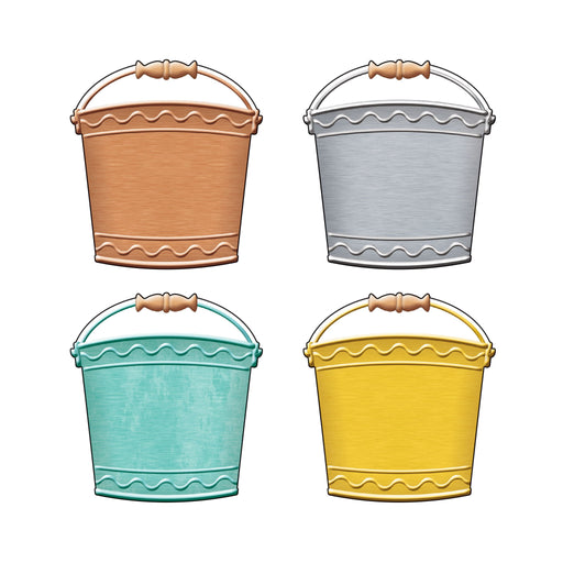 T10732 Accent Metal Buckets