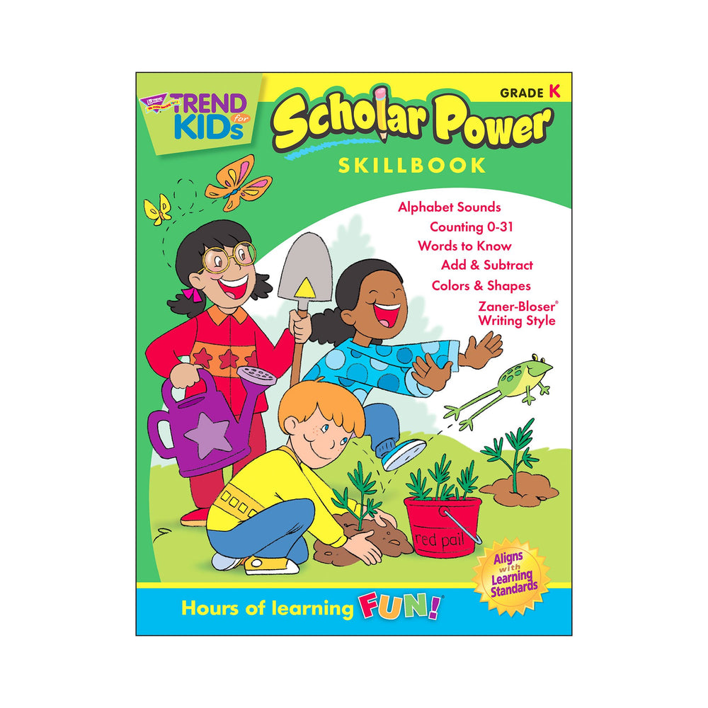 T16102 Skillbook Kindergarten Scholar Power