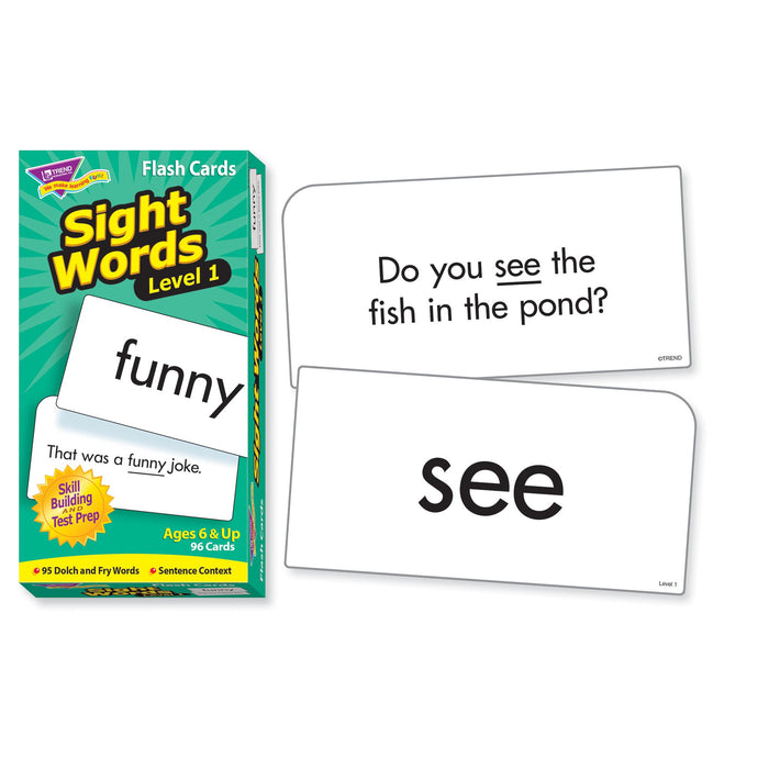 T53017 Flash Cards Sight Words 1