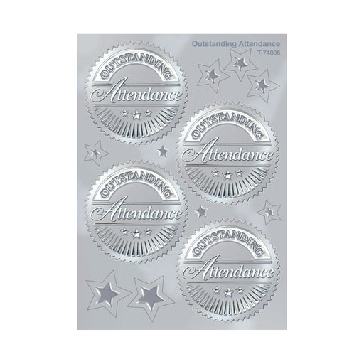 T74006 Stickers Award Seal Attendance
