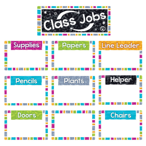 T8780 Bulletin Board Harmony Wipe Off Class Jobs