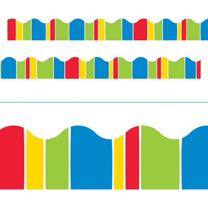 T92832 Border Trimmer Stripe Primary Colors