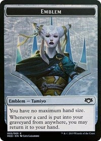 Emblem - Tamiyo, the Moon Sage [Mythic Edition: Ravnica Allegiance]