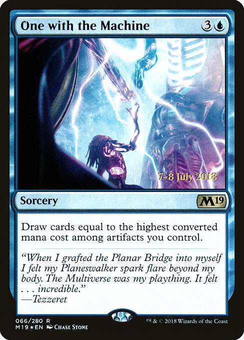 One with the Machine [Core Set 2019 Promos]