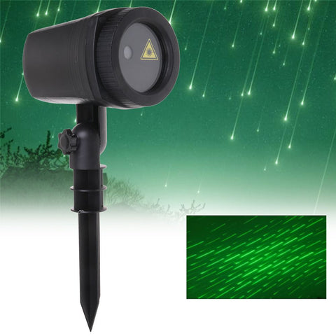 Laser Fairy Light Meteor Shower Outdoor Laser Projector For Xmas Christmas