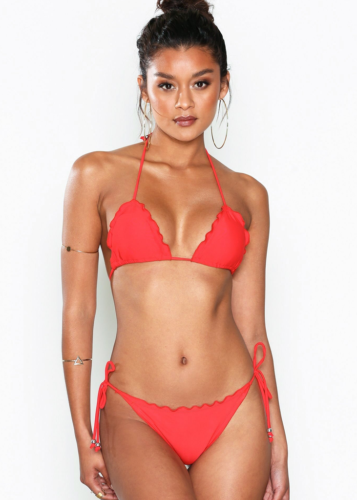 Triangle Aztec Bikini Set
