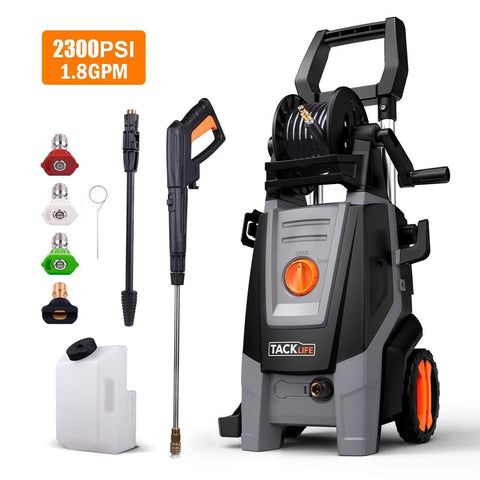 Pressure Washer 2320 PSI 1.8 GPM High Efficiency Electric Power Washer-PPW002R